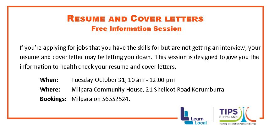 T4 Resume And Cover Letter